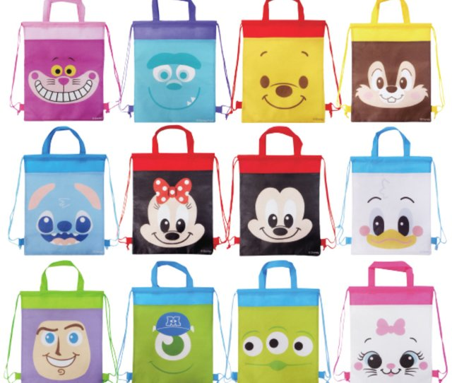 Disney Sackpack Set 12 Pcs Parallel Imports Product