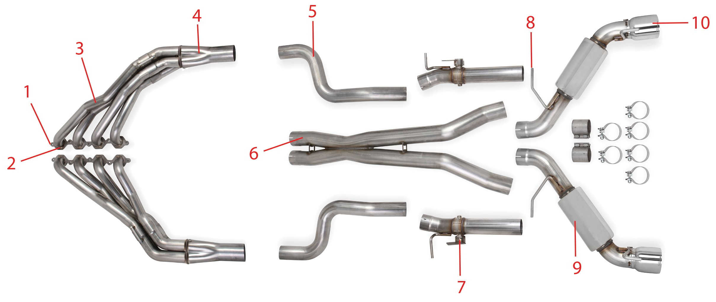 Chevy Trailblazer Exhaust System Diagram