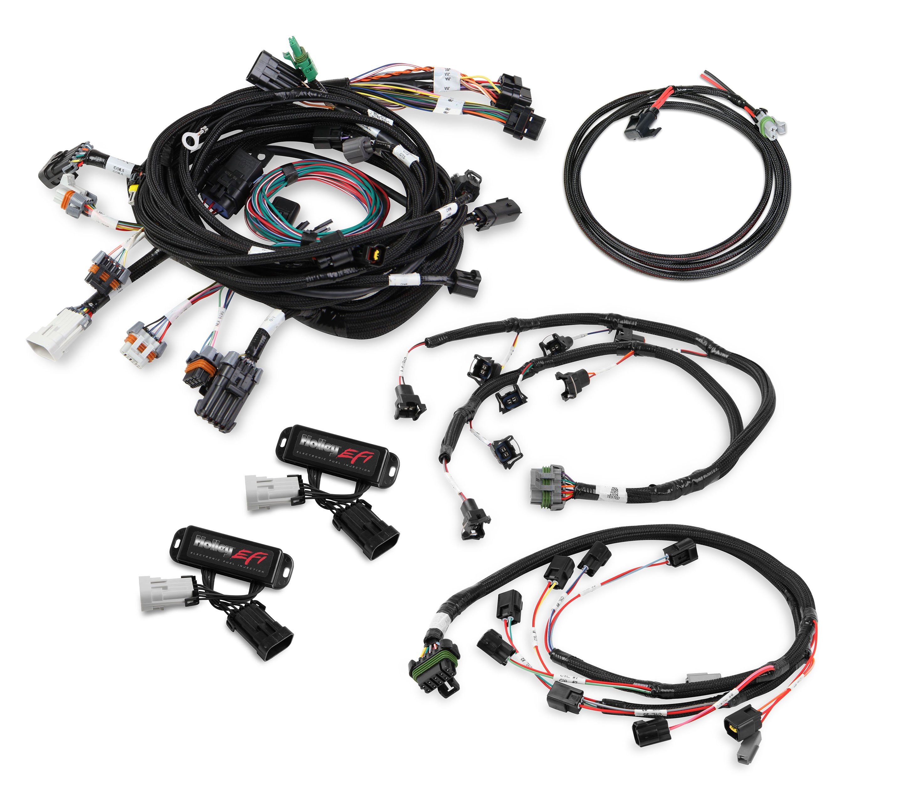 Holley Efi 558 506 Ford Modular 4 Valve Efi Harness Kit
