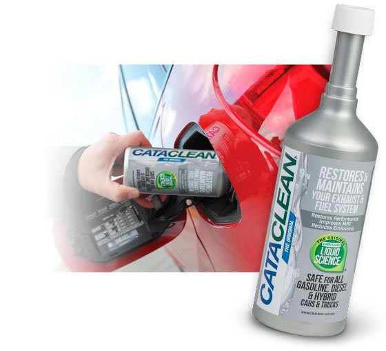 cataclean fuel exhaust system cleaner