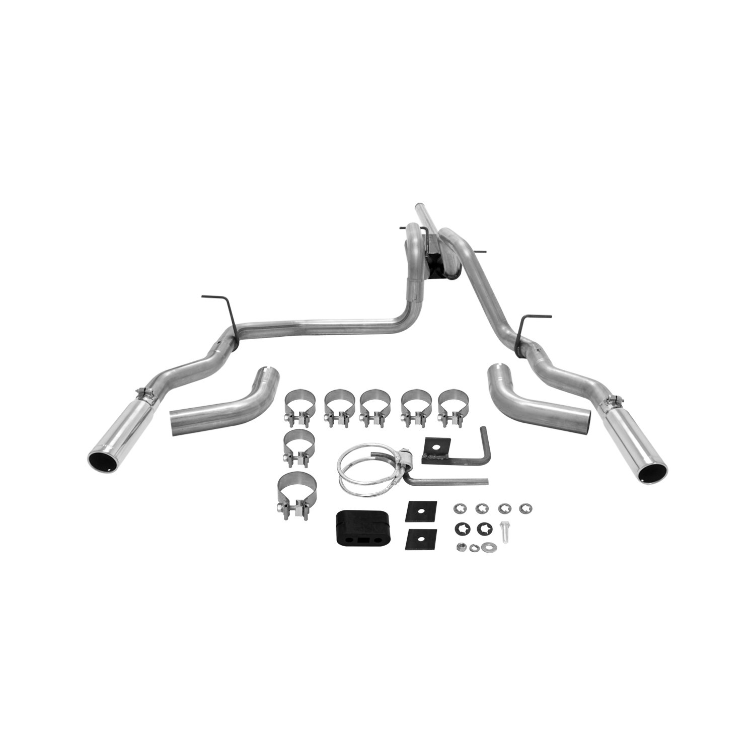 Flowmaster Flowmaster Force Ii Cat Back Exhaust System