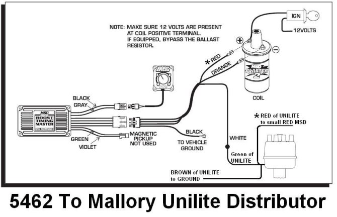 mallory ignition wiring diagram chevy  center wiring