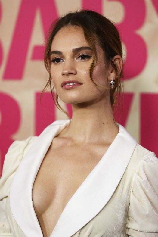 50+ Lily James Hot Beautiful Images And Latest Sexy ...