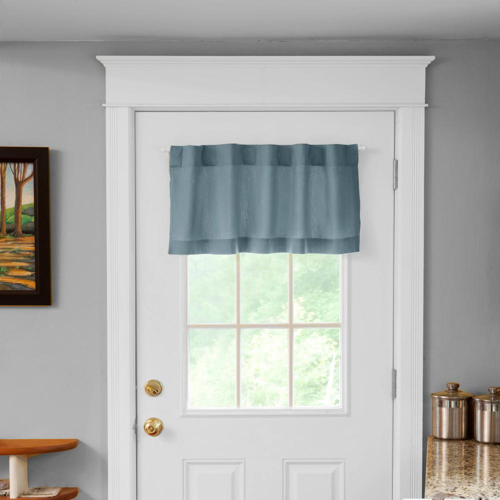 white steel magnetic curtain rod