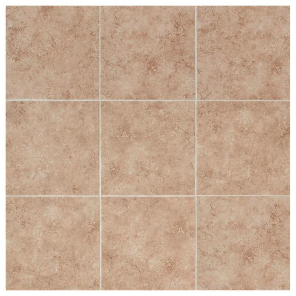 Seemingly random strips of tile are glued together to form a panel that is easy to install. Daltile Catalina Canyon Noce 12 In X 12 In Porcelain Floor And Wall Tile 15 Sq Ft Case Lv021212hd1p6 The Home Depot