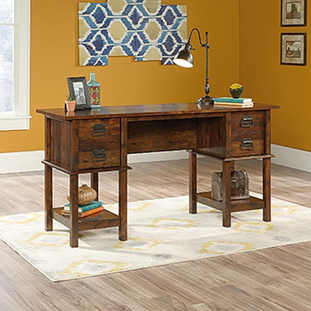 SAUDER Viabella Collection Curado Cherry Desk 420760 The