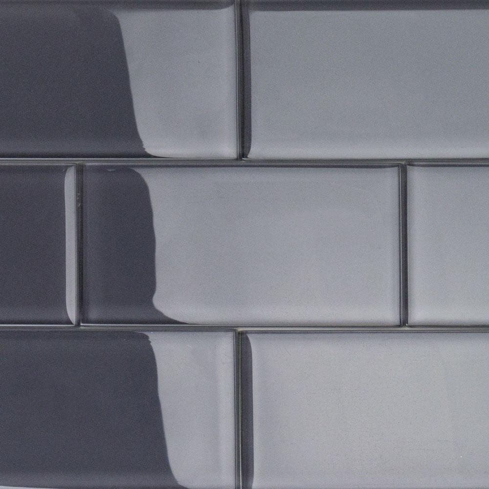 Ivy Hill Tile Contempo Smoke Gray Polished  In X  In X