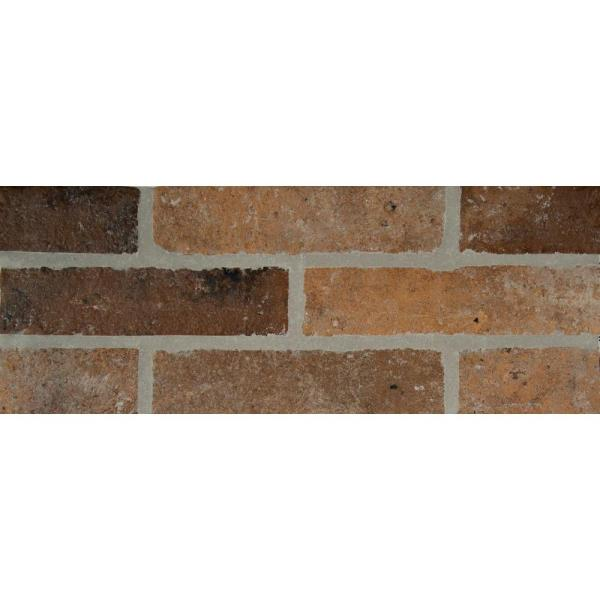 MSI Rustico Brick 2 1 3 in  x 10 in  Glazed Porcelain Floor and Wall     MSI Rustico Brick 2 1 3 in  x 10 in  Glazed Porcelain
