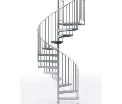 Spiral Staircase Kits Stair Parts The Home Depot | Installing A Spiral Staircase | Bottom | Rectangular | Alcove | 20 Step | Circular