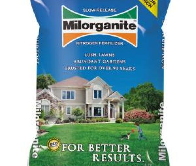 Milorganite 36 Lb Slow Release Nitrogen Fertilizer 100048741 The Home Depot