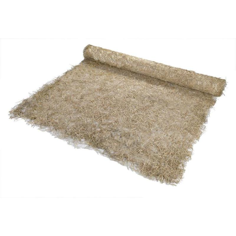 Supreme X Polypropylene Single Net Straw Erosion Control Blanket X