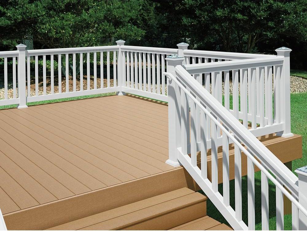 Deckorail White Ada Hand Rail Handicap Loop 235950 The Home Depot | Ada Compliant Wood Handrails | Accessible Ramp | Wooden Ramp | Commercial | Stair | Deck