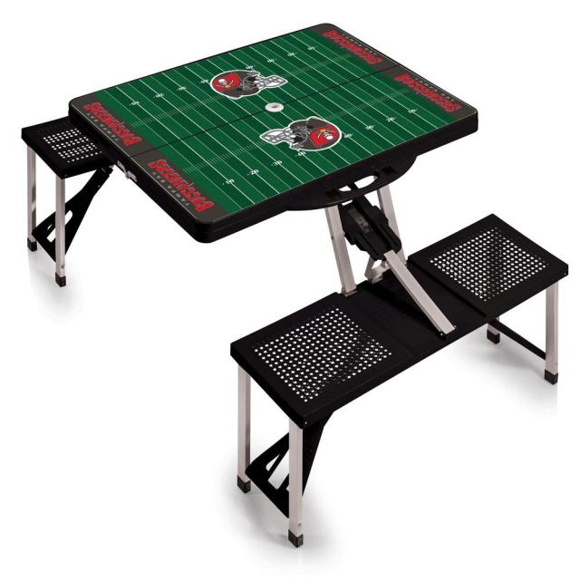 picnic time tampa bay buccaneers sport plastic outdoor patio picnic