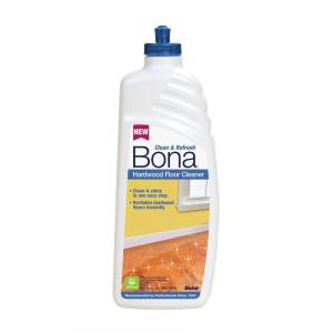 Bona 32 oz  Clean and Refresh Hardwood Floor Cleaner WM700051208     Bona 32 oz  Clean and Refresh Hardwood Floor Cleaner WM700051208   The Home  Depot