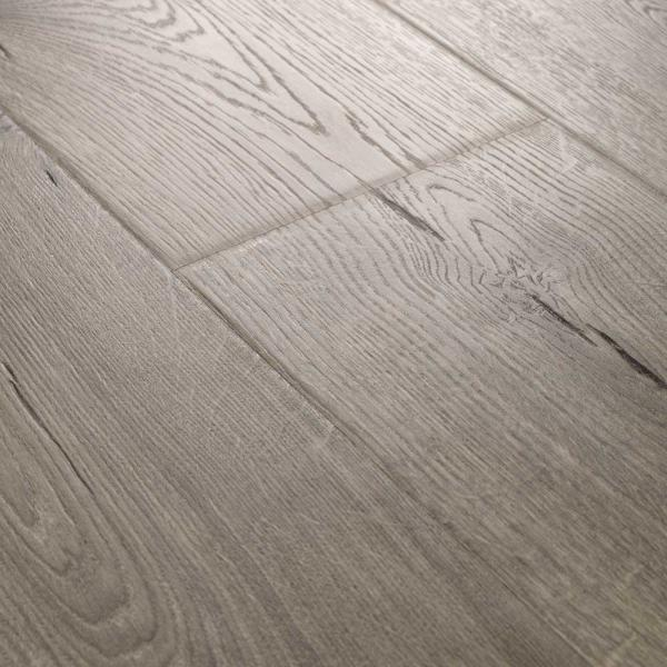 outlast waterproof vintage pewter oak 10 mm t x 7 48 in w x 47 24 in l laminate flooring 19 63 sq ft case