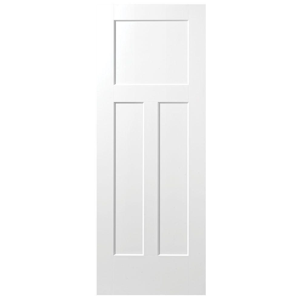 Masonite 32 in  x 80 in  Winslow Primed 3 Panel Solid Core Composite     This review is from 24 in  x 80 in  Winslow Primed 3 Panel Solid Core  Composite Interior Door Slab
