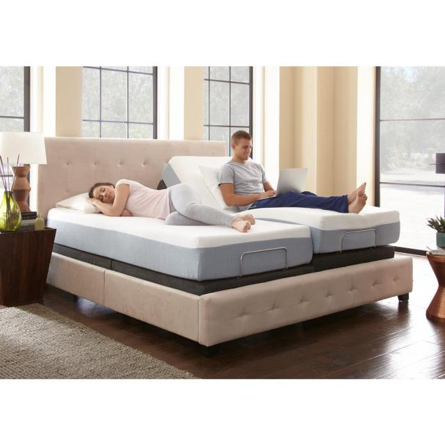 Rest Rite King Size Rest Rite Adjustable Foundation Base Bed Frame With Remote Control