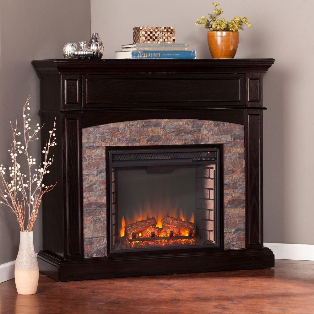 title | Corner Electric Fireplace