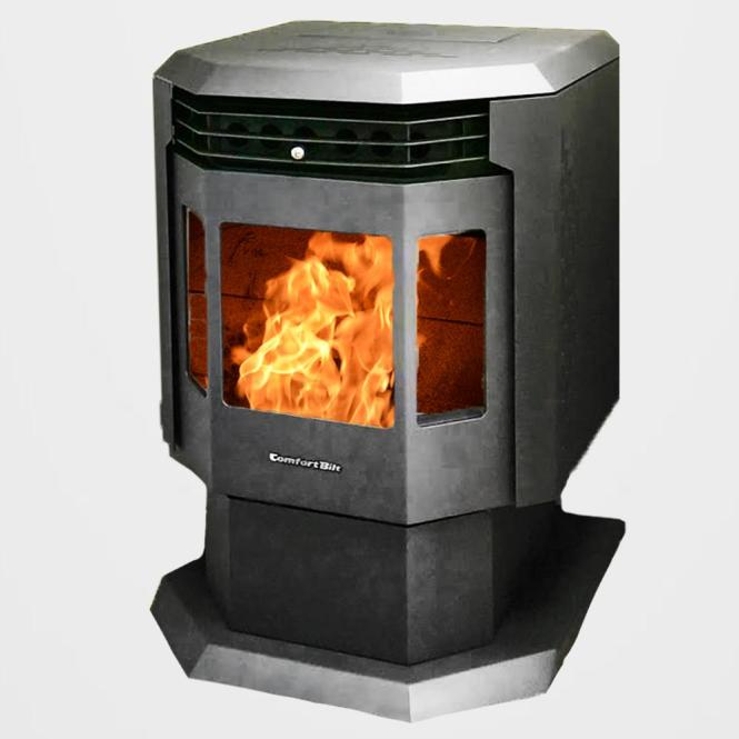 Wood Stove 2100 Sq Ft With Blower