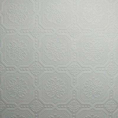 White   Wallpaper   Decor   The Home Depot Small Squares Wallpaper