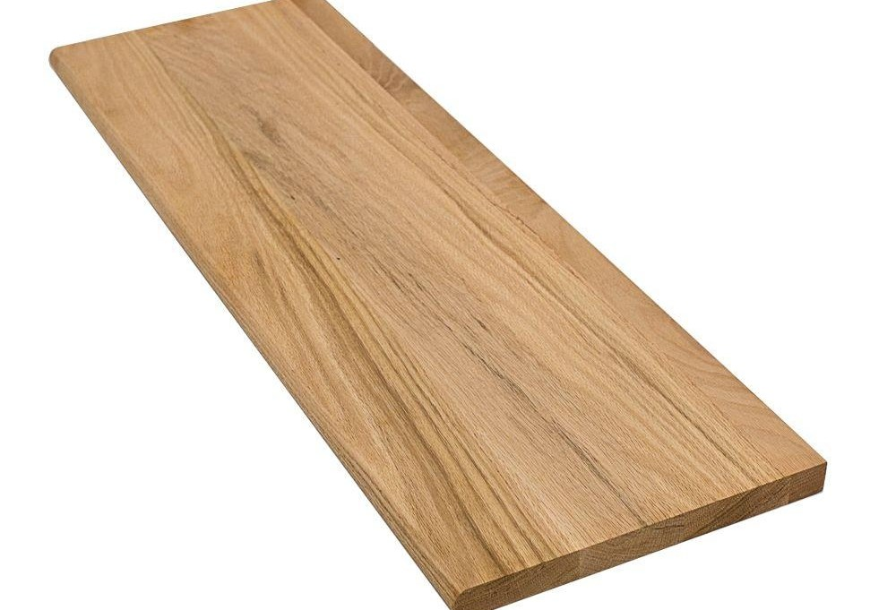 Stairtek 1 In X 11 5 In X 36 In Unfinished Solid | Unfinished Oak Stair Treads