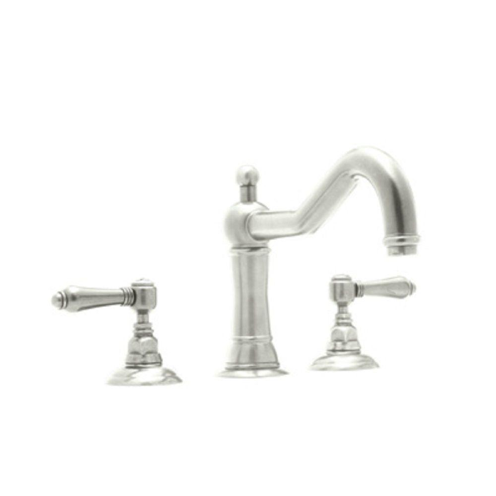 Rohl Acqui 8 In Widespread 2 Handle Bathroom Faucet In