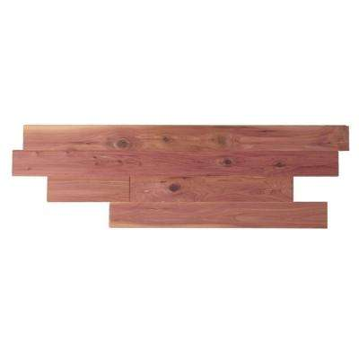 Aromatic Eastern Red Cedar Closet Liner Tongue And Groove Planks  Sq Ft