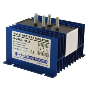 Cooper Bussmann 70 Amp Battery Isolator with Wiring KitRBBI70A  The Home Depot