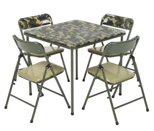 Cosco Kids  Piece Camo Vinyl Set With Green Frame