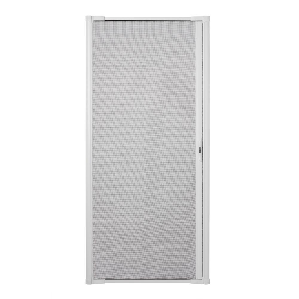 Andersen 36 In X 80 In Luminaire White Retractable Screen Door