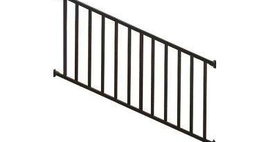 Deck Stair Railings Deck Railings The Home Depot | Metal Handrails For Sale | Balcony Railing | Iron Balusters | Stainless Steel | Stair | Cast Iron