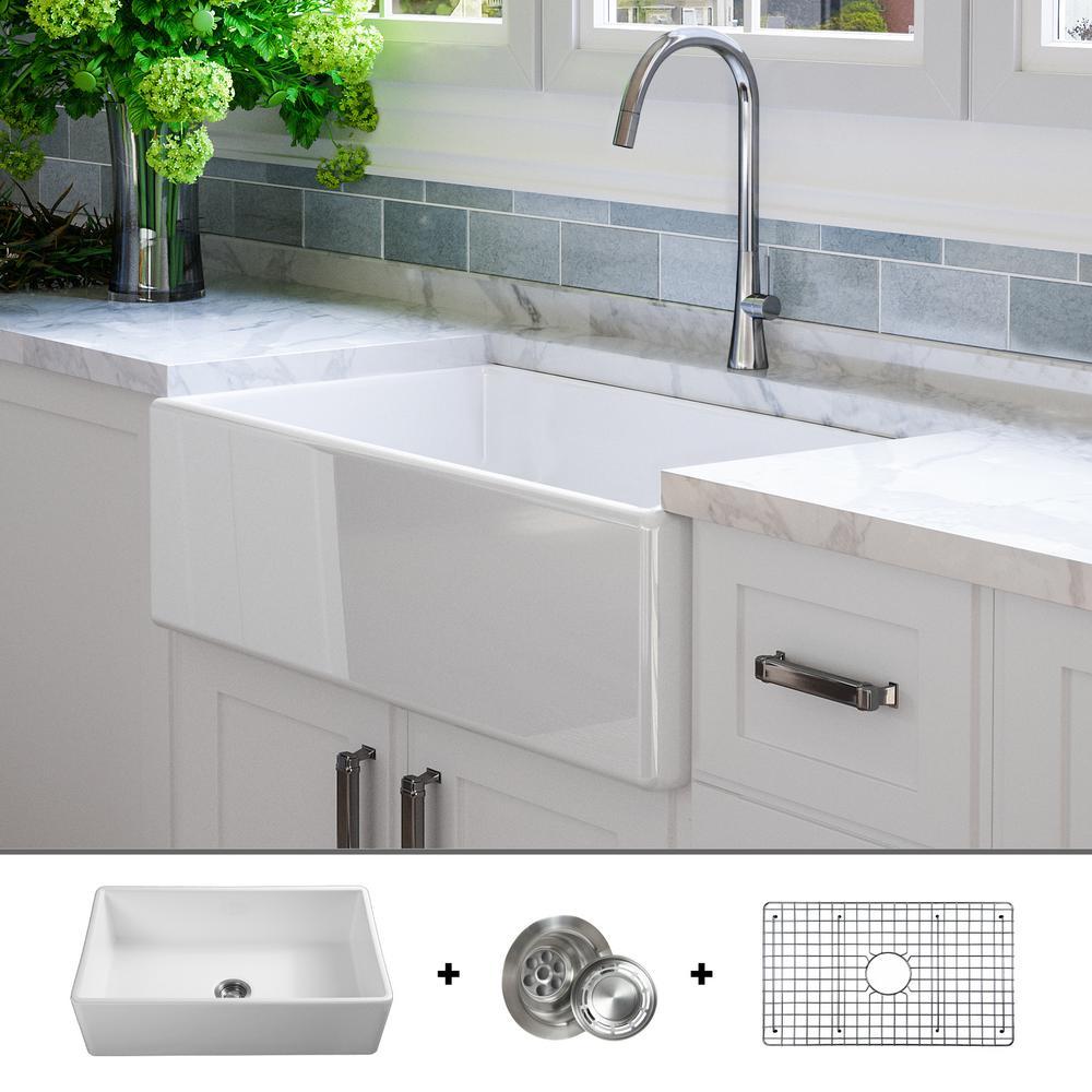 farmhouse kitchen sinks ebay