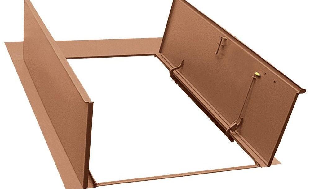 Bilco Door Strut Bilco Classic Series 55 In X 72 In Primed | Bilco Precast Basement Stairs | Walkout Basement | Egress | Basement Entry | Precast Concrete Steps | Basement Entrance