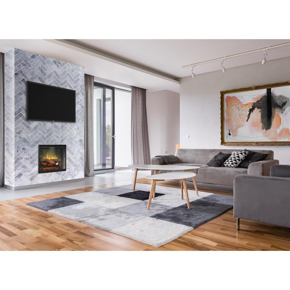 Dimplex Revillusion 24 In Built In Fireplace Insert In Weathered Grey Rbf24dlxwc The Home Depot