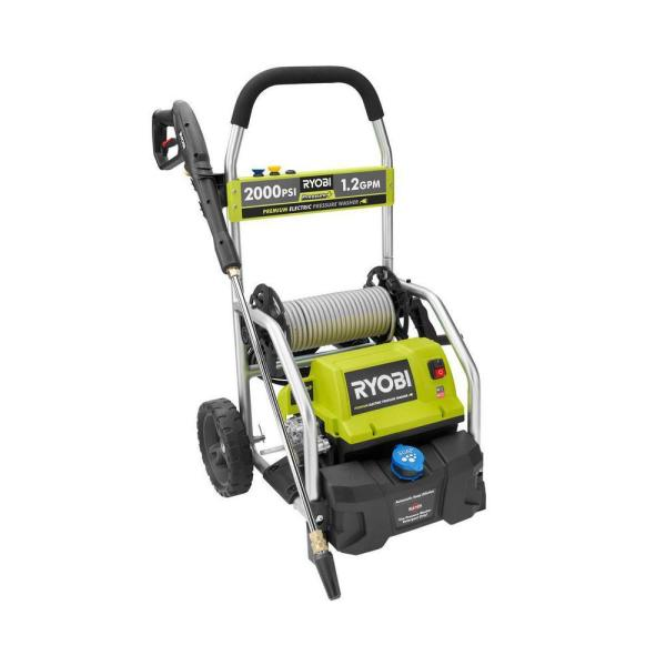 Ryobi 2 000 Psi 1 2 Gpm Electric Pressure Washer Ry141900 The Home Depot