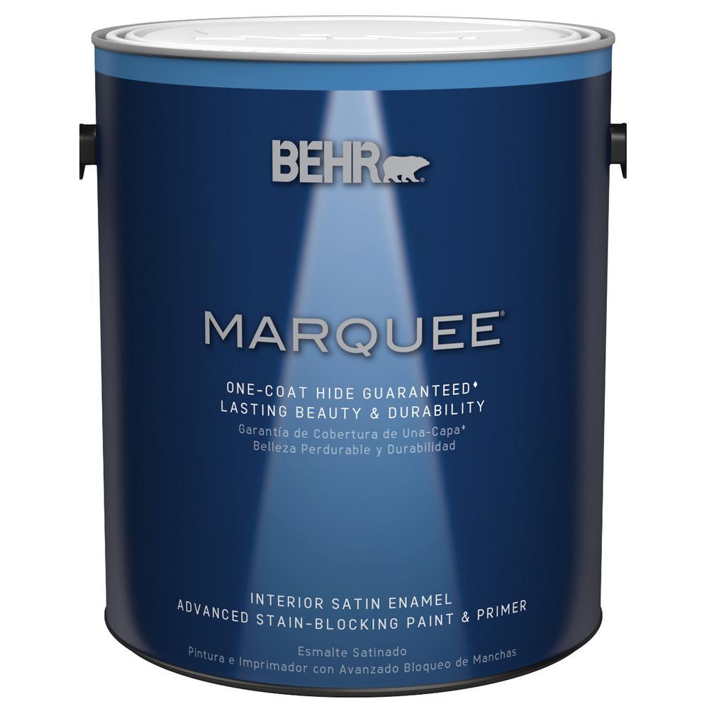 BEHR MARQUEE 1 Gal Medium Base Satin Enamel Interior