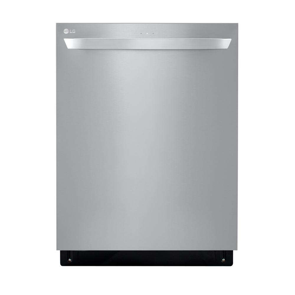 Lg Electronics Top Control Dishwasher In Printproof Stainless