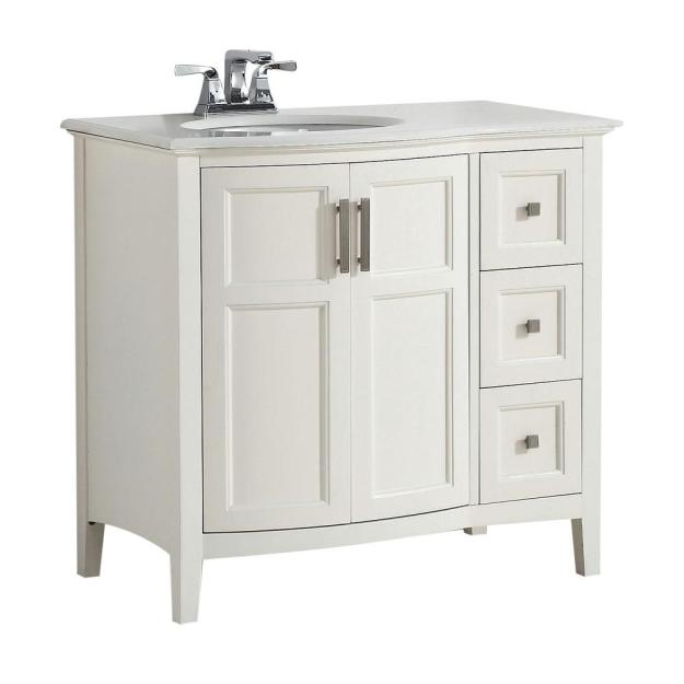 simpli home winston rounded front 36 in. w vanity in soft white with