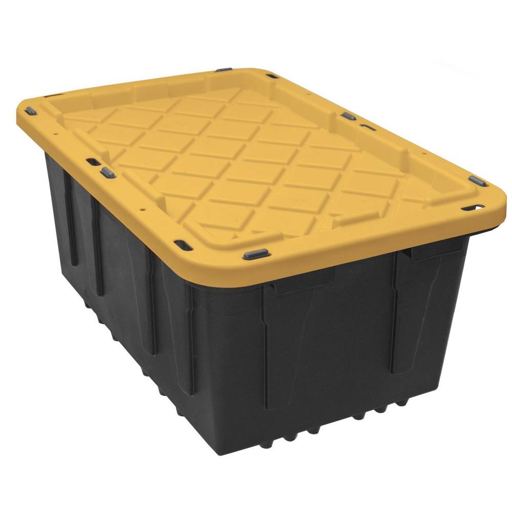 Beautiful 100 Gallon Clear Storage Bins - black-yellow-hdx-storage-bins-totes-hdx17gonline-6-64_1000  Pictures_521739.jpg