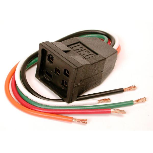 10 in evaporative cooler motor pigtail receptacle