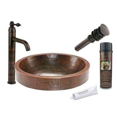 copper - vessel sinks - bathroom sinks - the home depot