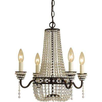 Parlor 4 Light Oil Rubbed Bronze Mini Chandelier