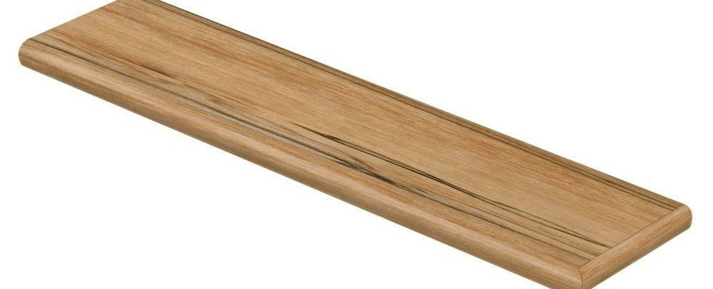 Cap A Tread Sahara Wood 94 In Long X 12 1 8 In Deep X 1   Home Depot Hardwood Stair Treads