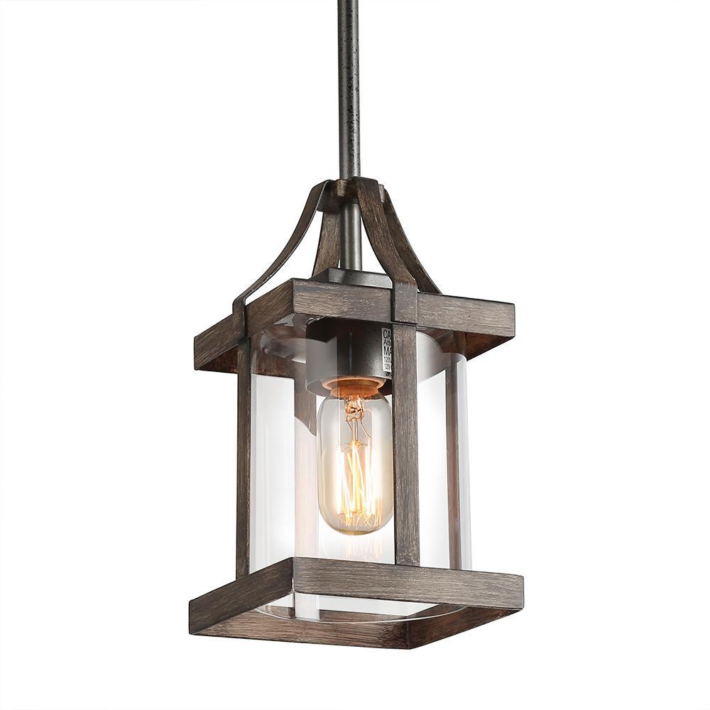 Rustic Pendant Lighting Home Depot