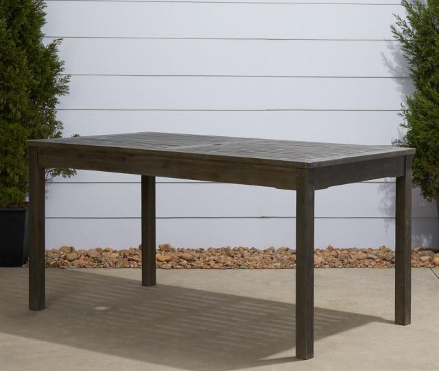 Hand Sc D Acacia Patio Dining Table