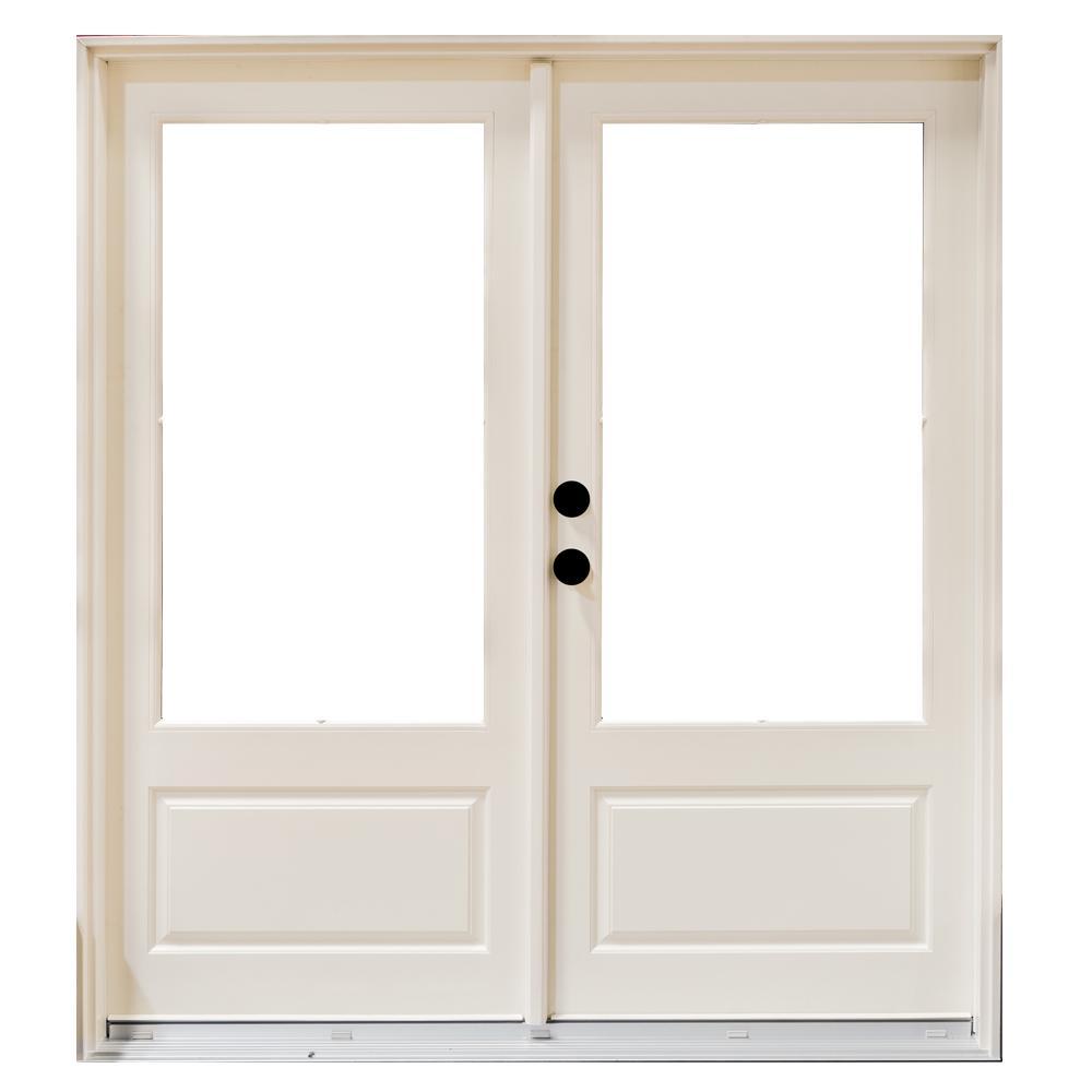 72 X 76 Center Hinged Patio Doors