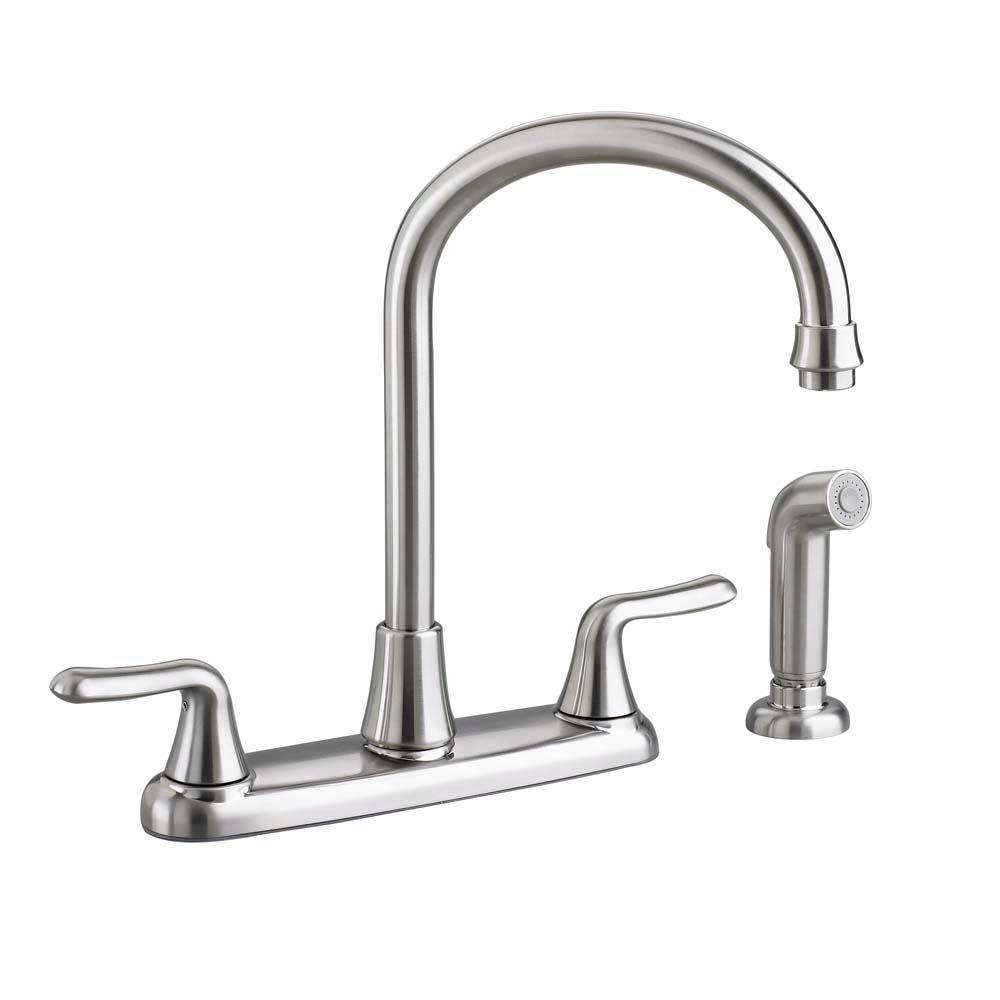 new 2 handle home kitchen sink faucet