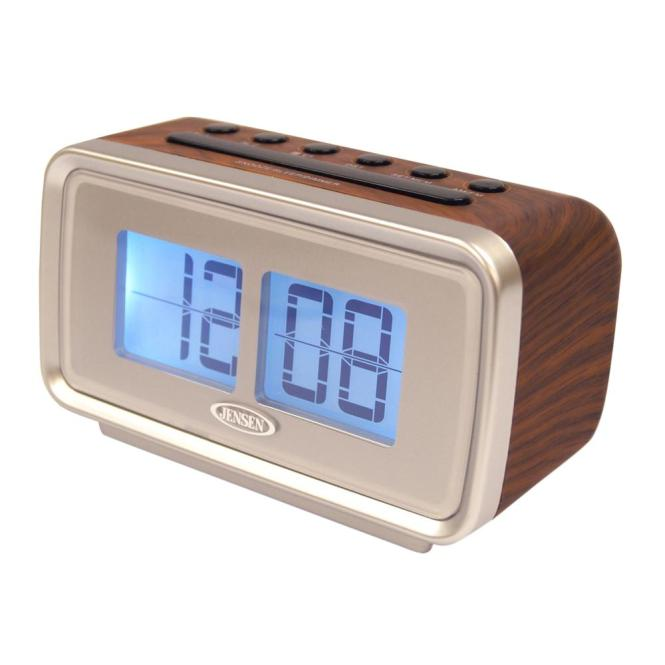 Jensen Am And Fm Dual Alarm Clock With