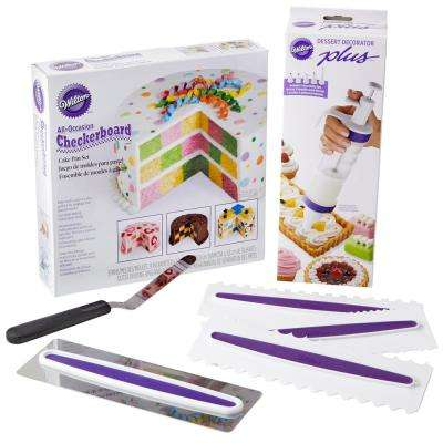Wilton   Cake Decorating Tools   Baking Tools   Accessories   The     Checkerboard Cake