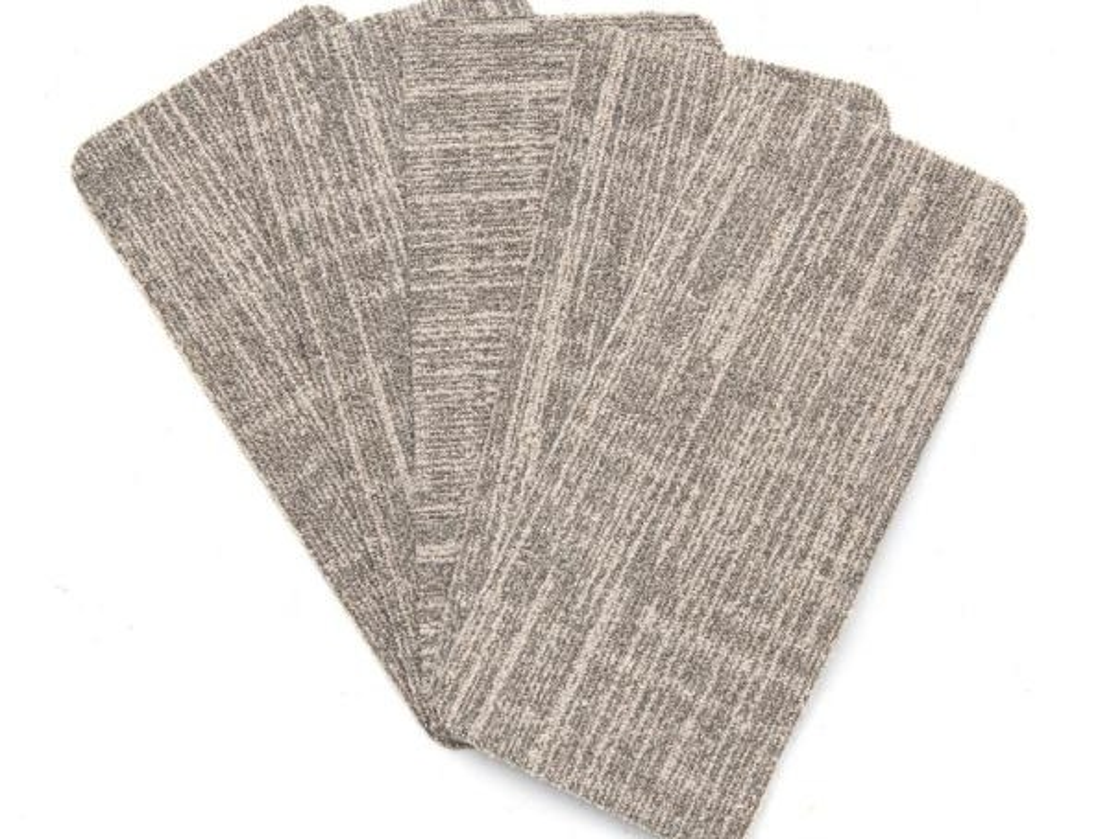 Nance Carpet And Rug Peel And Stick Earthtone Indoor Outdoor 8 In   Indoor Outdoor Stair Treads   Anti Slip Stair   Ellsworth Indoor   Waterhog Stair   Carpet Stair   Rubber Backing